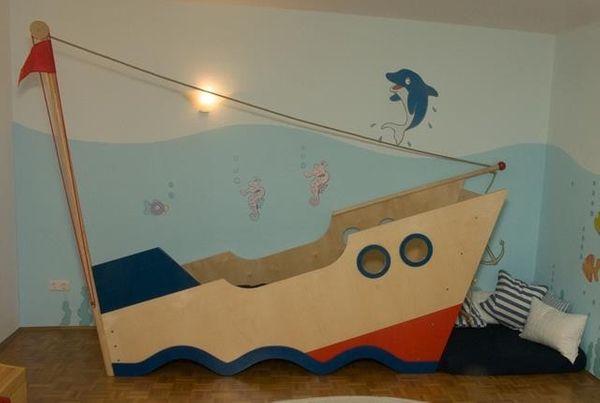 Kinderbett Schiff Abenteuerbett von Haba