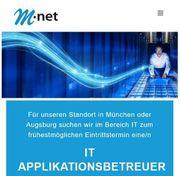 IT Applikationsbetreuer m w d