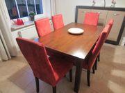 Tisch 6 Stühle Essecke Essgruppe