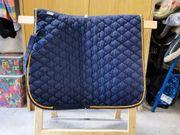 Schabracke Dressur blau Waldhausen