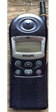 Philips diga Kult-Handy Vintage ideal