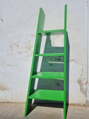 grünes Regal - guter Zustand - Gebrauchsspuren