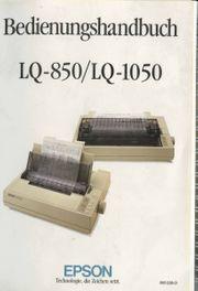 EPSON LQ 850 Nadeldrucker Einzelblatteinzug