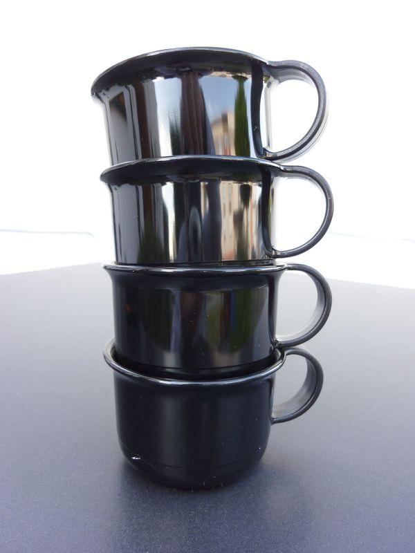 TUPPER Ware Espresso Mokka Tassen