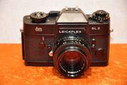Leicaflex SL2 in schwarz Leitz