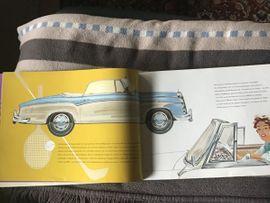 Mercedes Prospekt von 1957 220: Kleinanzeigen aus Bensheim - Rubrik Literatur, Betriebsanleitungen