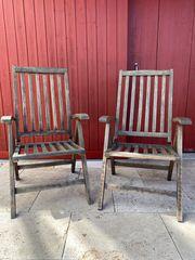 Gartenstühle aus Teakholz