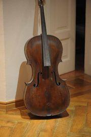 Interessantes altes Cello 19 Jahrhundert -