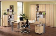 Home Office Büromöbel in Ahorn