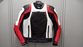 Held Motorrad Jacke Leder / Textil Airbag vorb. wie neu, 10Mon, m. Kaufbeleg, Gr 52