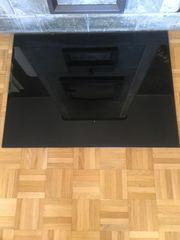 Kamin Glasbodenplatte schwarz