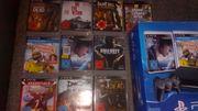 Playstation 3 mit 10 Spielen