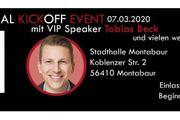 Event mit Tobias Beck Veranstaltung