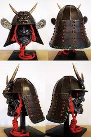 Samuraihelm NEU - Replik - angefertigt von