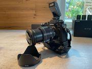 Fujifilm xt-2 mit Objektiven und