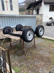 BPW Anhängerachsen gebremst 1 250kg