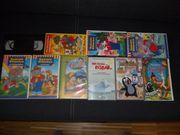10 VHS Video Kassetten