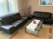 Couchgarnitur Leder 3 Sitzer 2