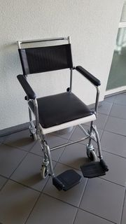 Rollstuhl Pflege Stuhl - Toilettenstuhl TS-1