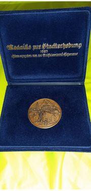 Medaille zur Stadterhebung Hohenems 1983