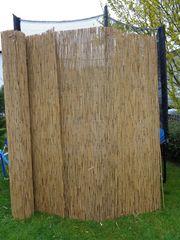 Schilfrohrmatte - Sicht - wind - frostschutz - Abschattung