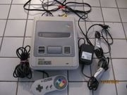 Super Nintendo und Game Pac