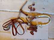 Sidepull aus Leder in braun