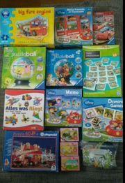 Schnäppchen XXL Spiele Puzzle Paket