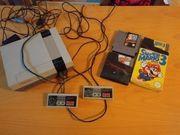 Nintendo NES mit 3 Spielen