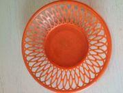 Original Brotkörbchen DDR orange 23cm
