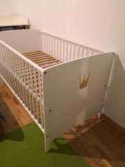 Kombi Kinderbett mit Zubehör Babybett