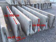 Betonleitwand Betonschutzwand Betonbarriere Absenker Anläufer
