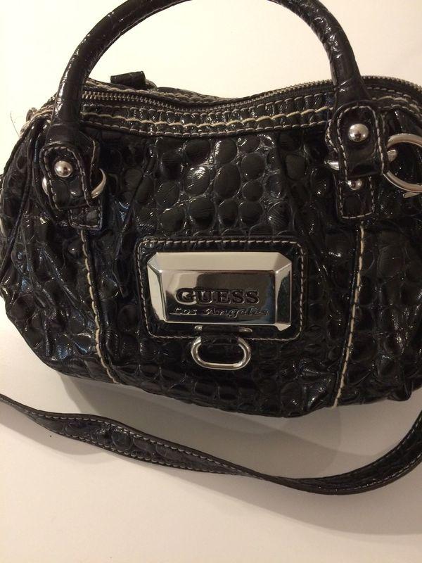254ee954ddcda GUESS Handtasche schwarz Mod. Los Angeles NP  200EUR in Böblingen ...