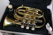 Taschentrompete Trompete Musiker Blechblas Instrument