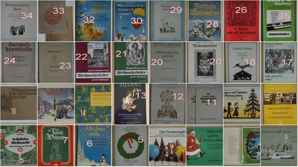 Noten für Weihnachten 32 Titel