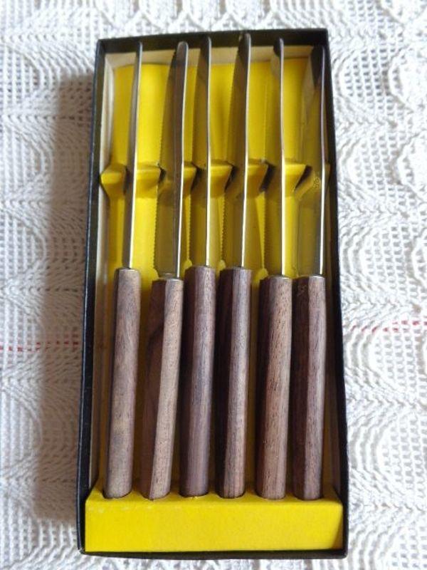 Vintage Obstmesser mit Holzgriff 6