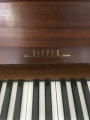 Klavier Marke Rippen