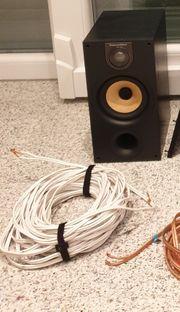 Bowers Wilkins kleine Lautsprecher hinten