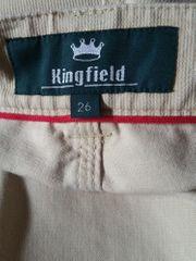 Tadellose Kingfield - Herrenhose in Kurzgröße -