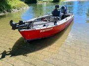 Boot Angelboot Sturmboot Wallerboot aus