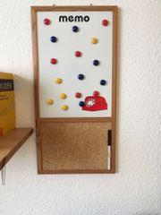 Magnettafel Pinwand mit Magneten