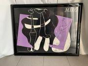 Kunstdruck mit Rahmen Join Miro