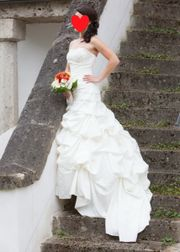 Traumhaftes Brautkleid Hochzeitskleid Gr XS