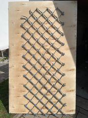 Rankgitter aus verzinktem Stahl