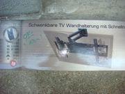 Wandhalterung für Flachbild TV