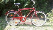 Beachcruiser rotmetallic