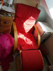 Ikea Sessel rot zu verschenken
