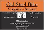 Professionelle Ultraschallreinigung - Motorrad 4-fach Vergaser