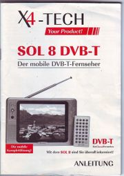 Mobiler DVB - T Fernseher