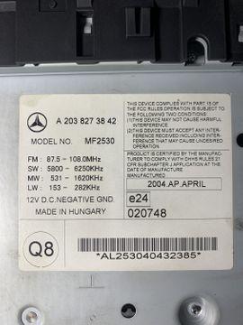 Mercedes-Teile - Mercedes Benz W203 Autoradio CD